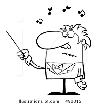 Conductor Clipart #92312.