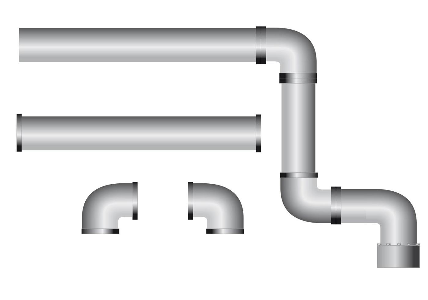Water Pipe Free Vector Art.