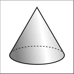 Cone clipart #13