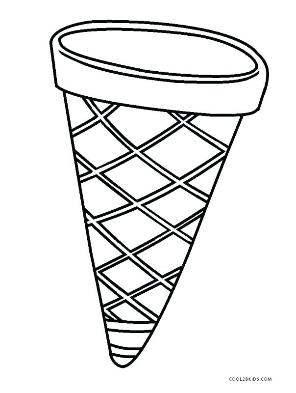 Empty cone clipart black and white 3 » Clipart Station.