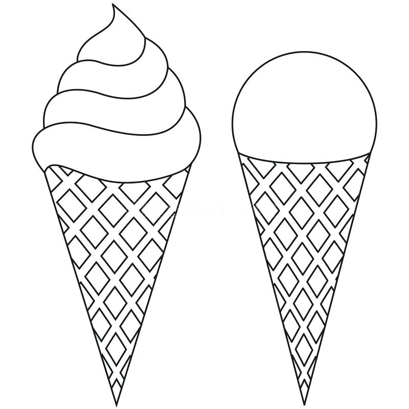 Empty cone clipart black and white 1 » Clipart Station.