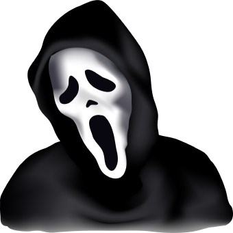 Scary Halloween Clipart.