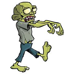 Zombie clip art.