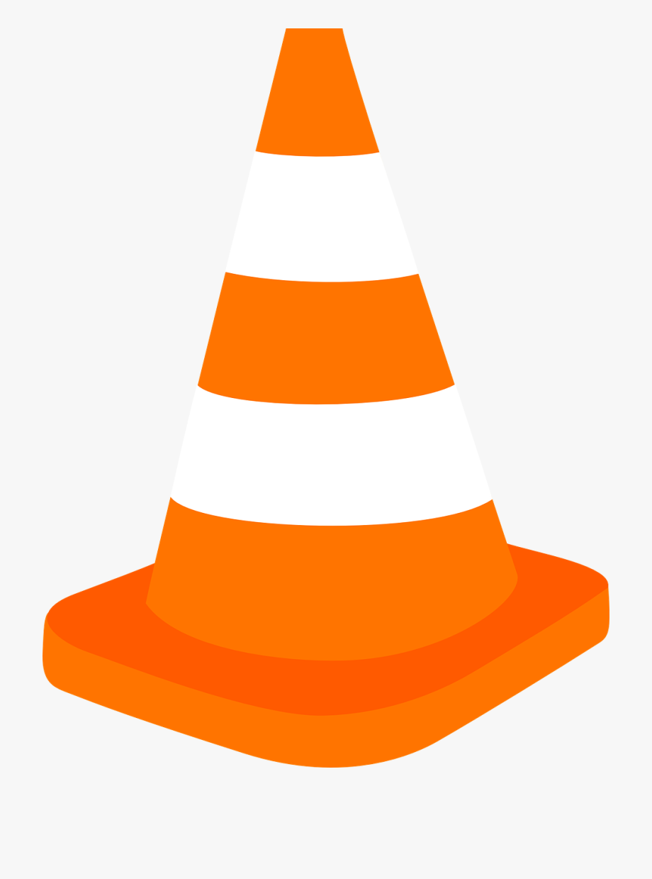 Cone Clipart Driving Safety.