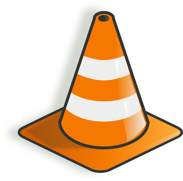 Safety Cone Clipart.