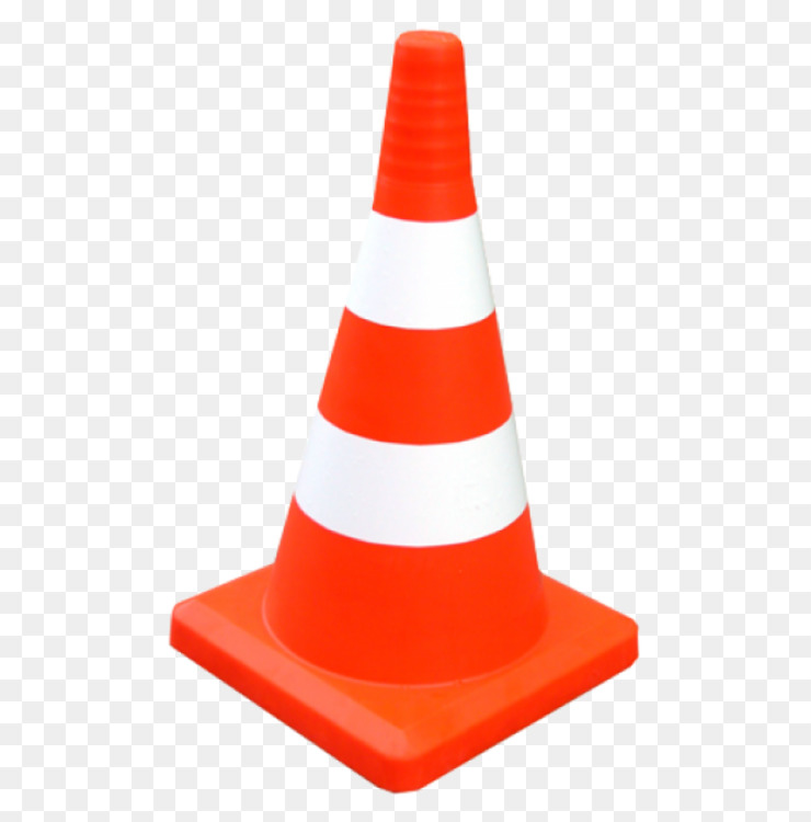 Orange,Cone,Traffic Cone Transparent PNG.
