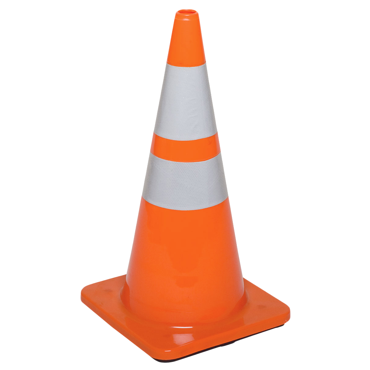 Traffic Cone PNG Transparent Image.