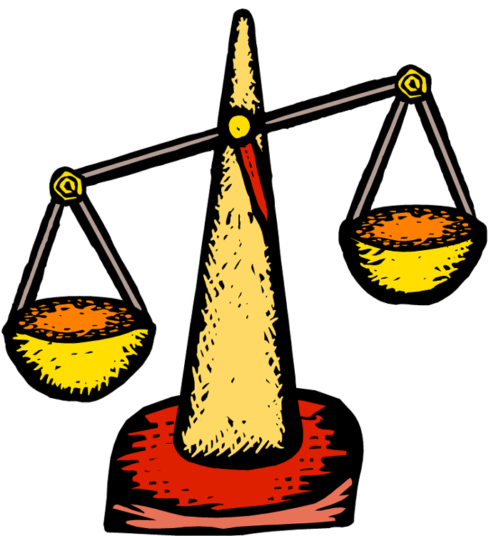 Balance Scale Clipart.