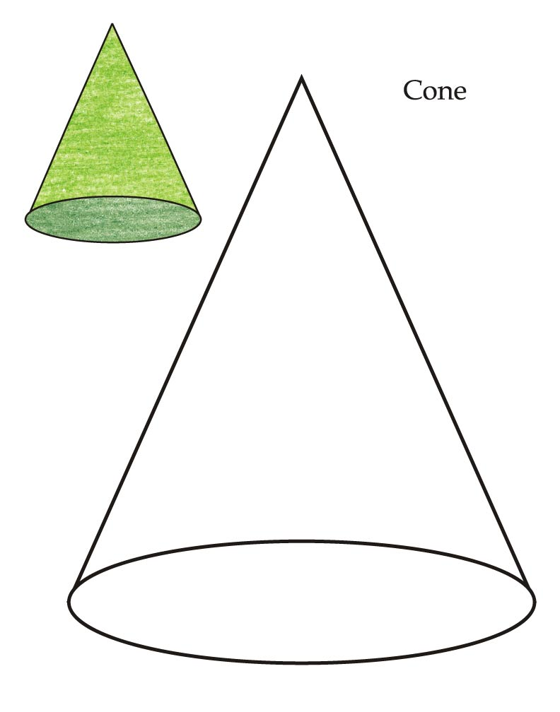Cone Shape Cliparts Clipart Best #0U8v0e.