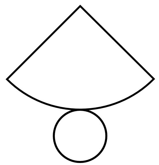 Cone Net Shape Clipart Free Clip Art Images #nz5lf5.