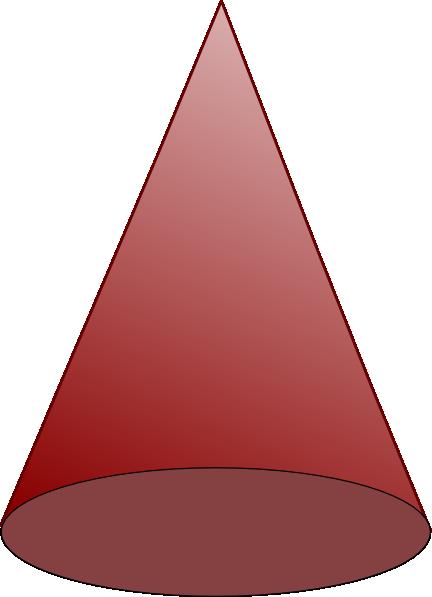 Cone Shape Clipart.