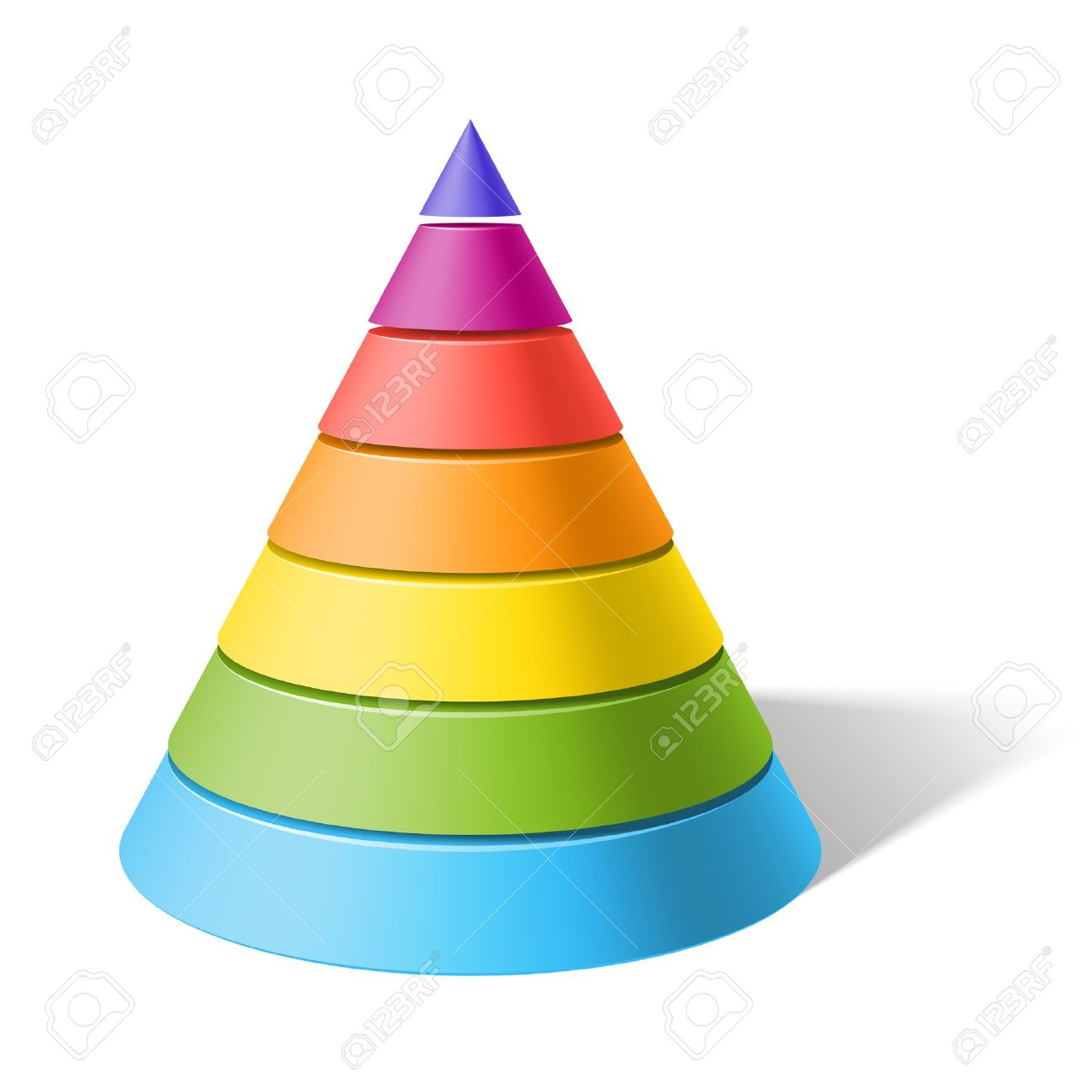 Layered Cone Royalty Free Cliparts, Vectors, And Stock.