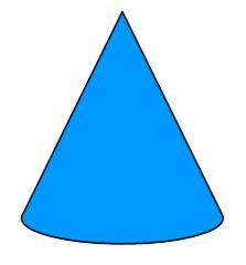 Cone Shape Clip Art.