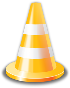 Yellow Cone Clip Art at Clker.com.