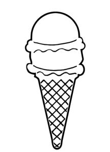 Ice Cream Cone Clipart.