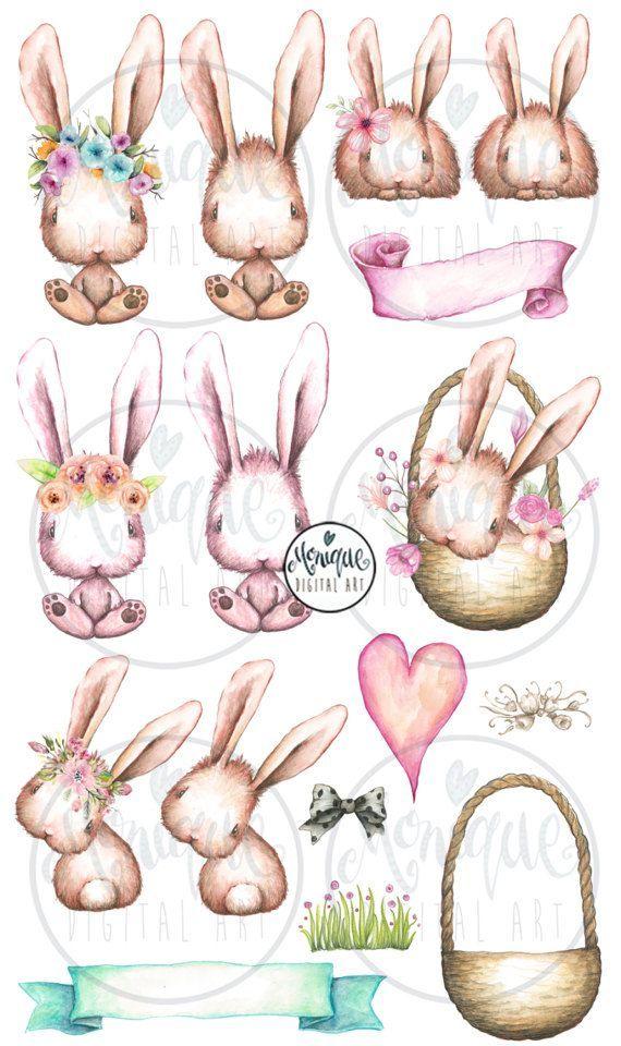 Easter Bunny Clipart Conejo.