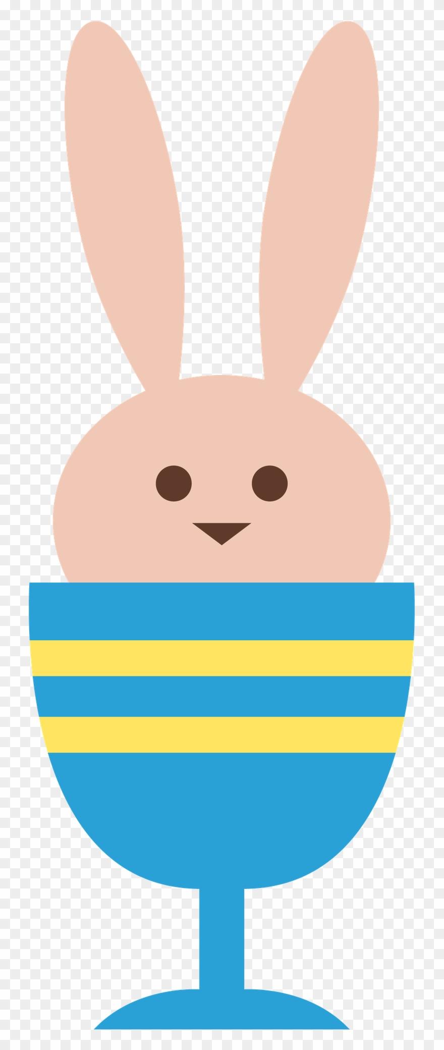 Easter Bunny Conejo De Pascua, Clipart.