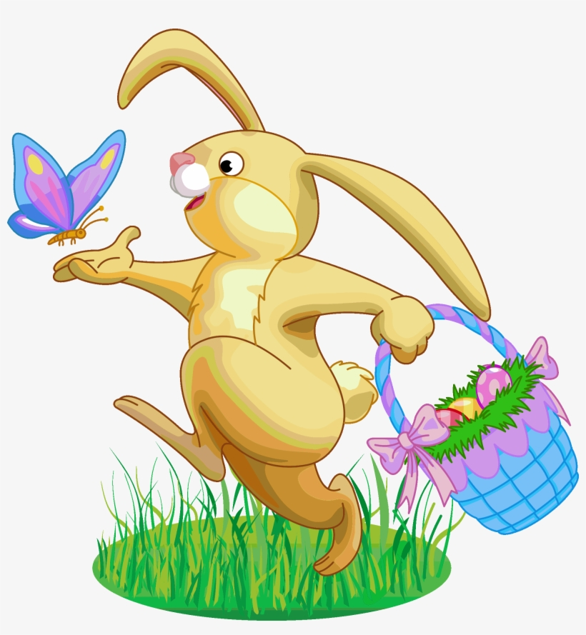 Easter Rabbit Png Clipart.
