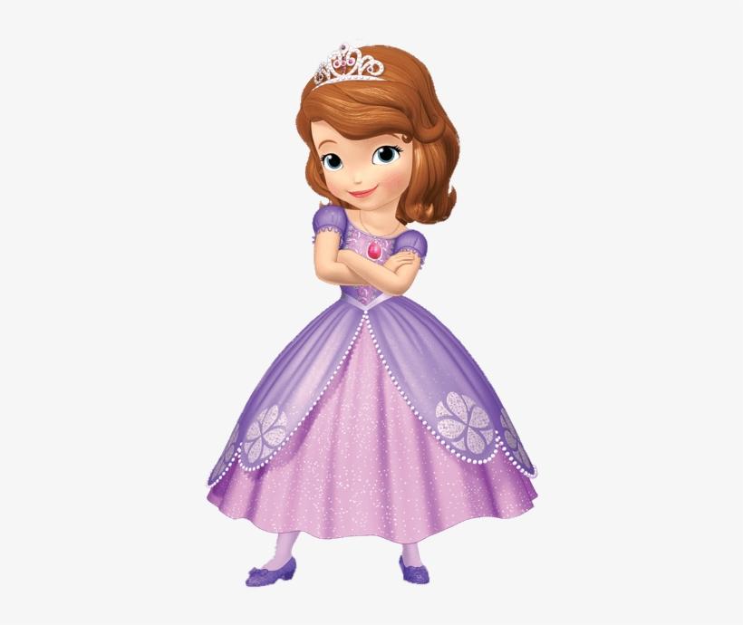Princess Sofia Arms Crossed.