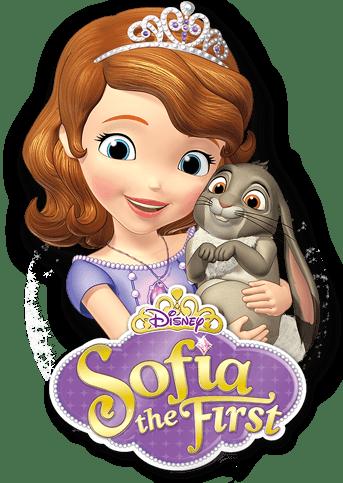 La Princesa Sofía con Conejo PNG transparente.
