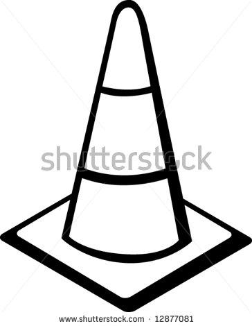 Construction Cone Clipart.