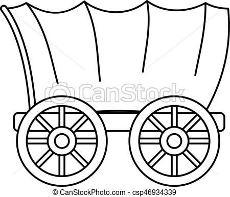 Covered wagon Illustrations and Clipart. 1,002 Covered wagon royalty.