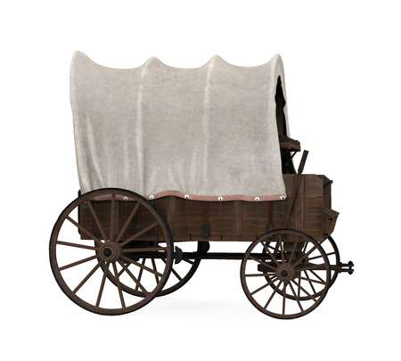 548 Covered Wagon Stock Illustrations, Cliparts And Royalty Free.