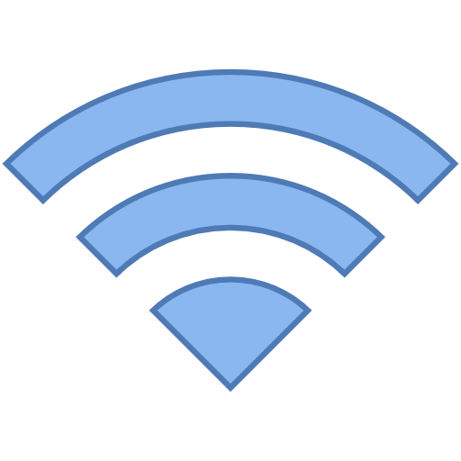 Wi, fi, wifi, wireless, signal, conexion, internet, computer Icon.