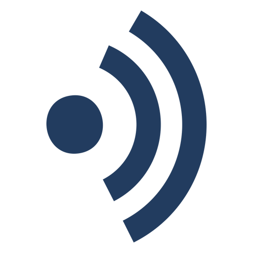 Wifi connection symbol.