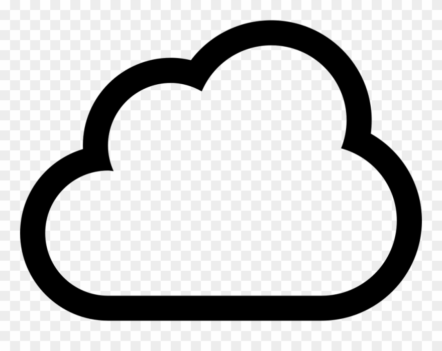 Cloud Outline Drawing At Getdrawings Com Free.