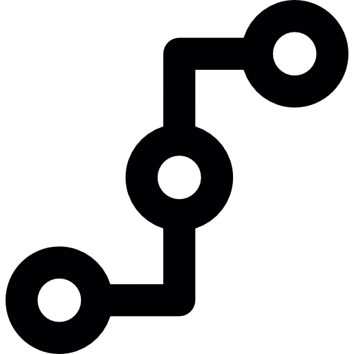 Connecting points Icons.