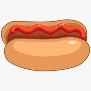 Hot Dog And Ketchup Png Clipart.