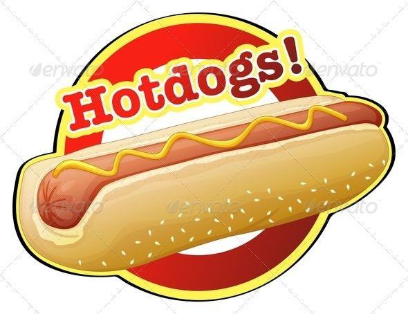 A Hotdog Label.