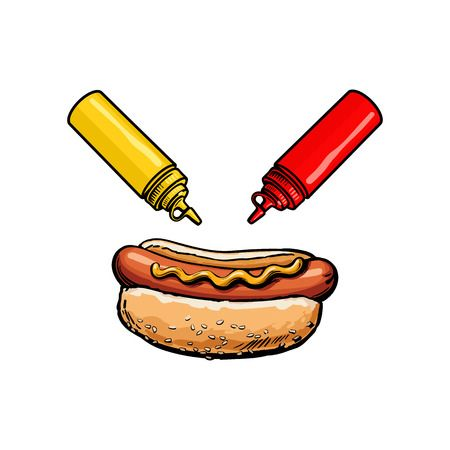 25,345 Hot Dog Stock Illustrations, Cliparts And Royalty Free Hot.