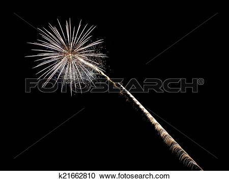 Stock Photography of Coney Island Beach Fireworks k21662810.