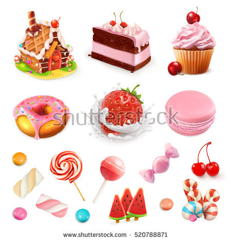 Confectionery Stock Images, Royalty.