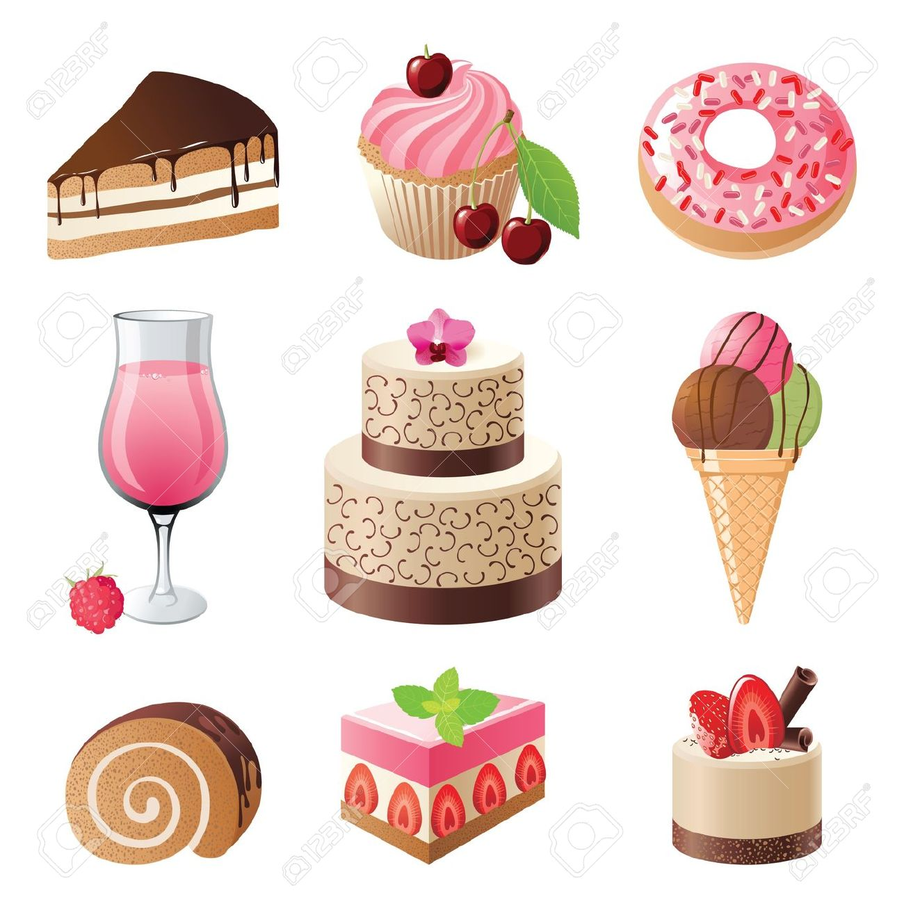 Confectionery clipart.