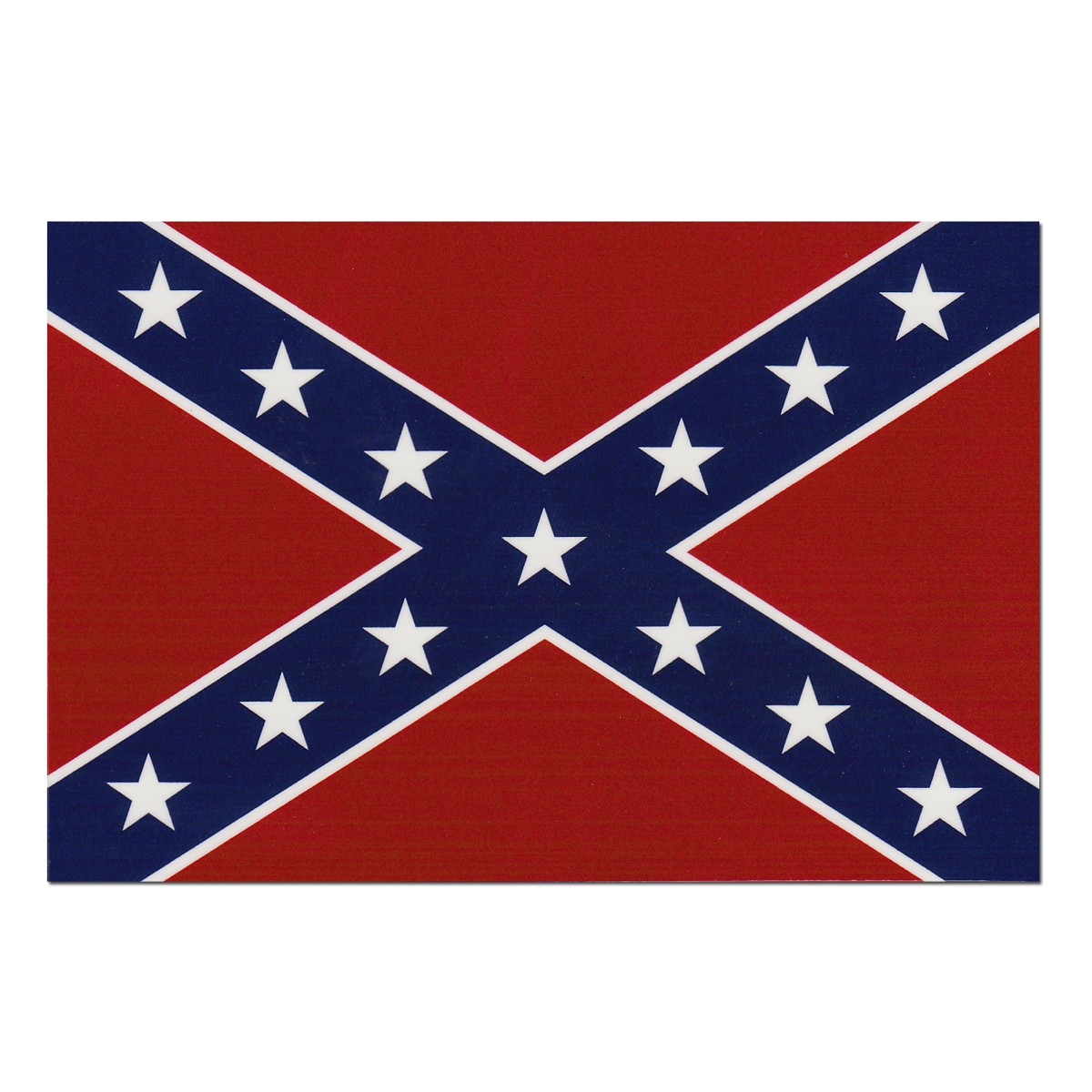 Clipart of confederate flag.