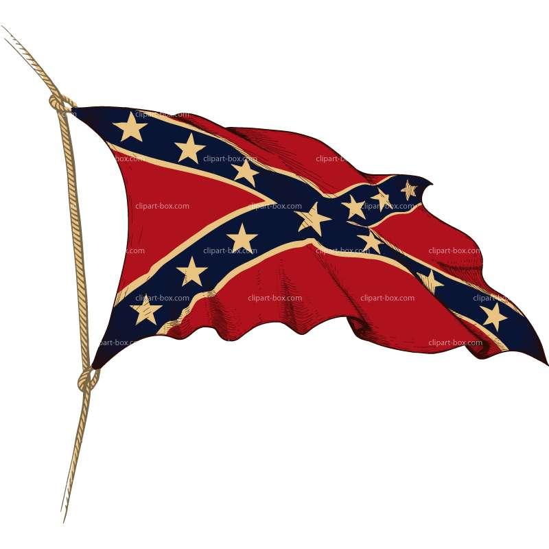 63+ Confederate Flag Clip Art.