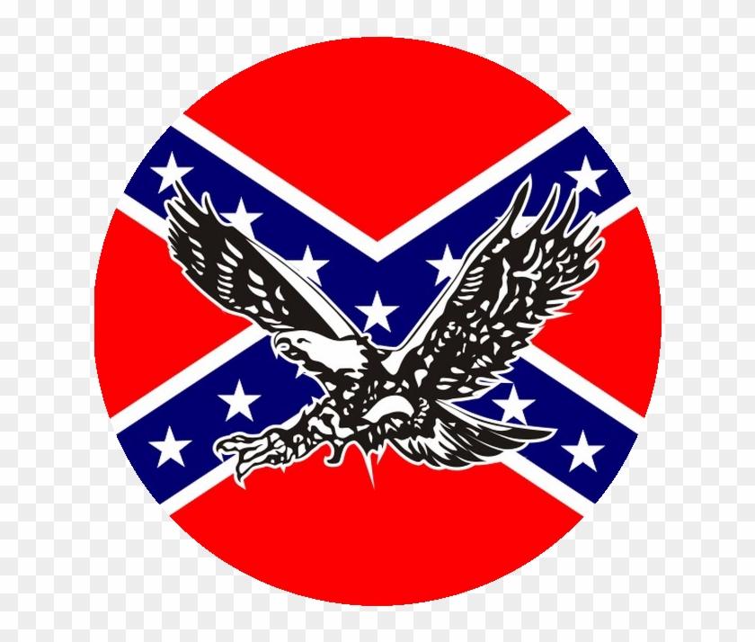 Confederate Flag Circle Png, Transparent Png.