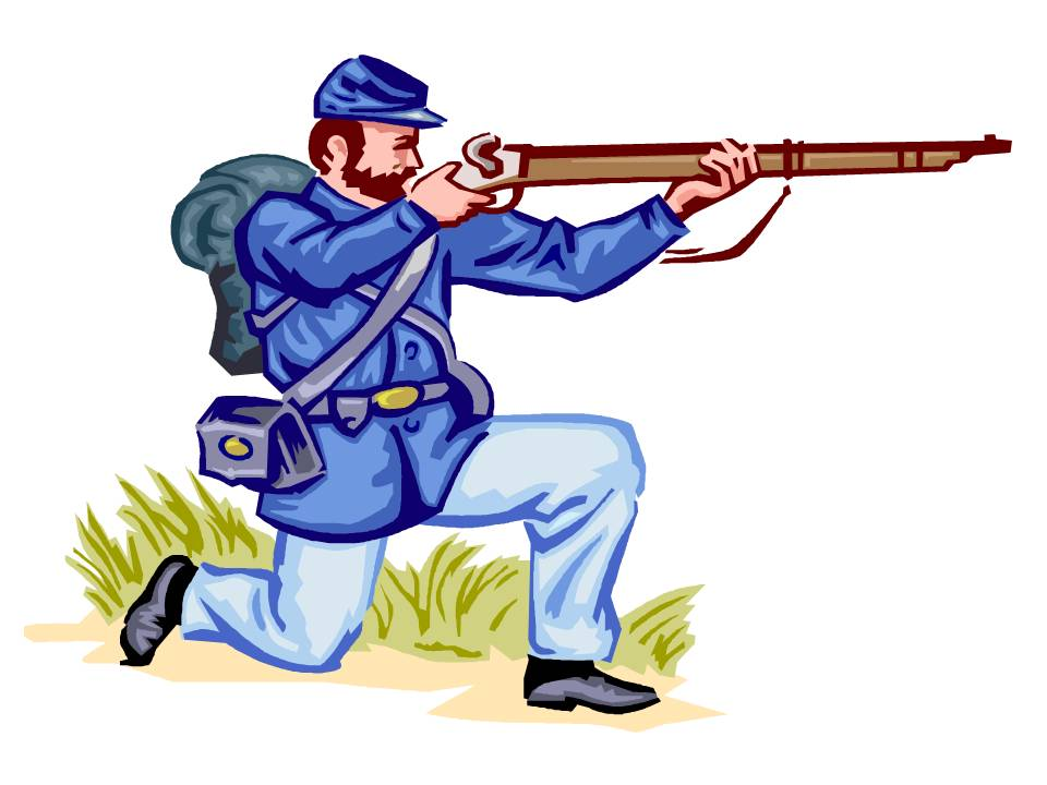 978 Civil War free clipart.