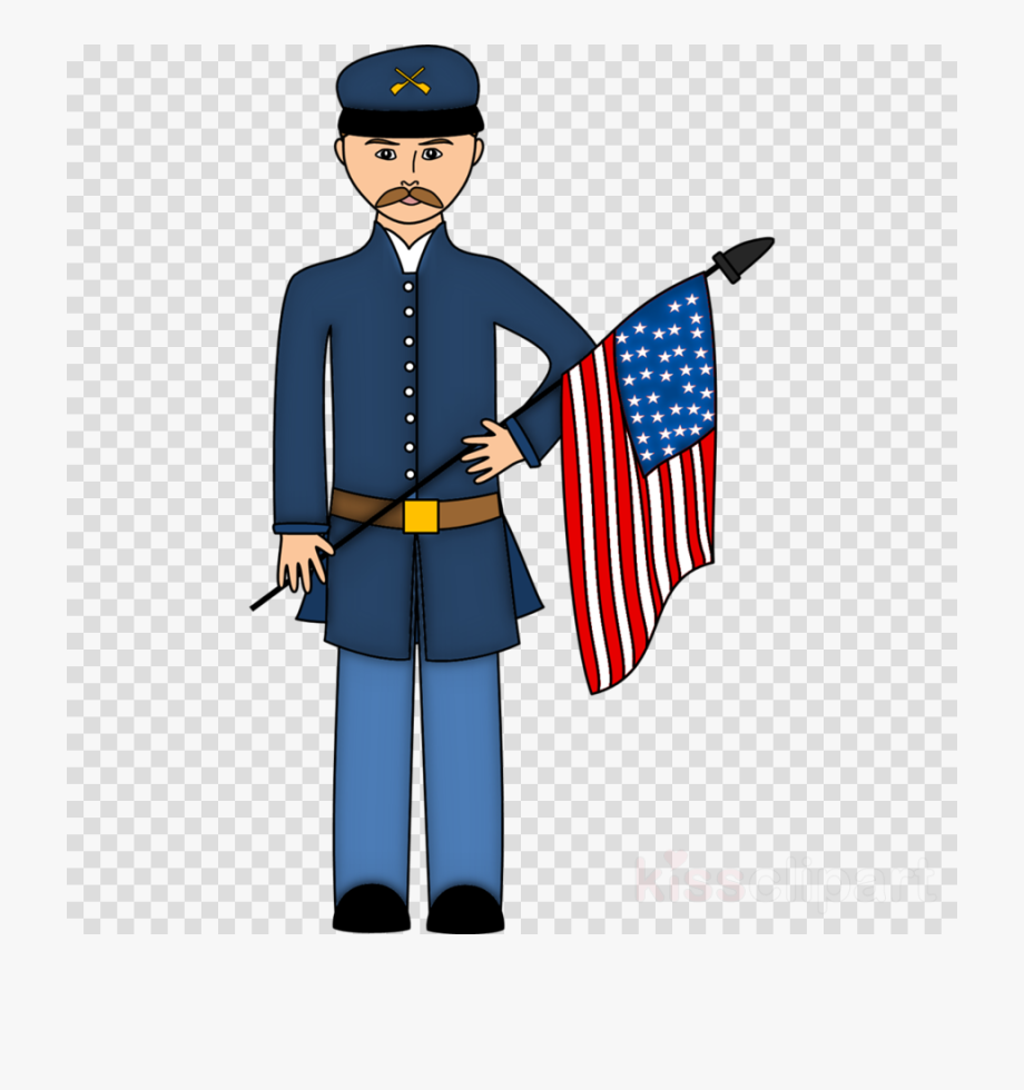 Union Soldier Civil War Cartoon , Transparent Cartoon, Free.