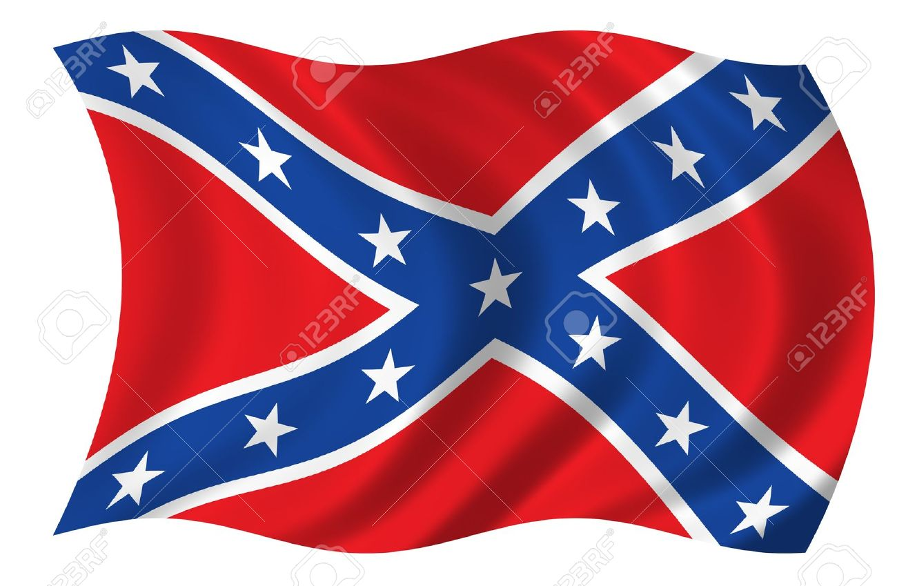 Confederate States Of America Flag Stock Photo, Picture And.