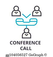 Conference Call Clip Art.