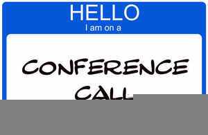 Conference Call Clipart Free.