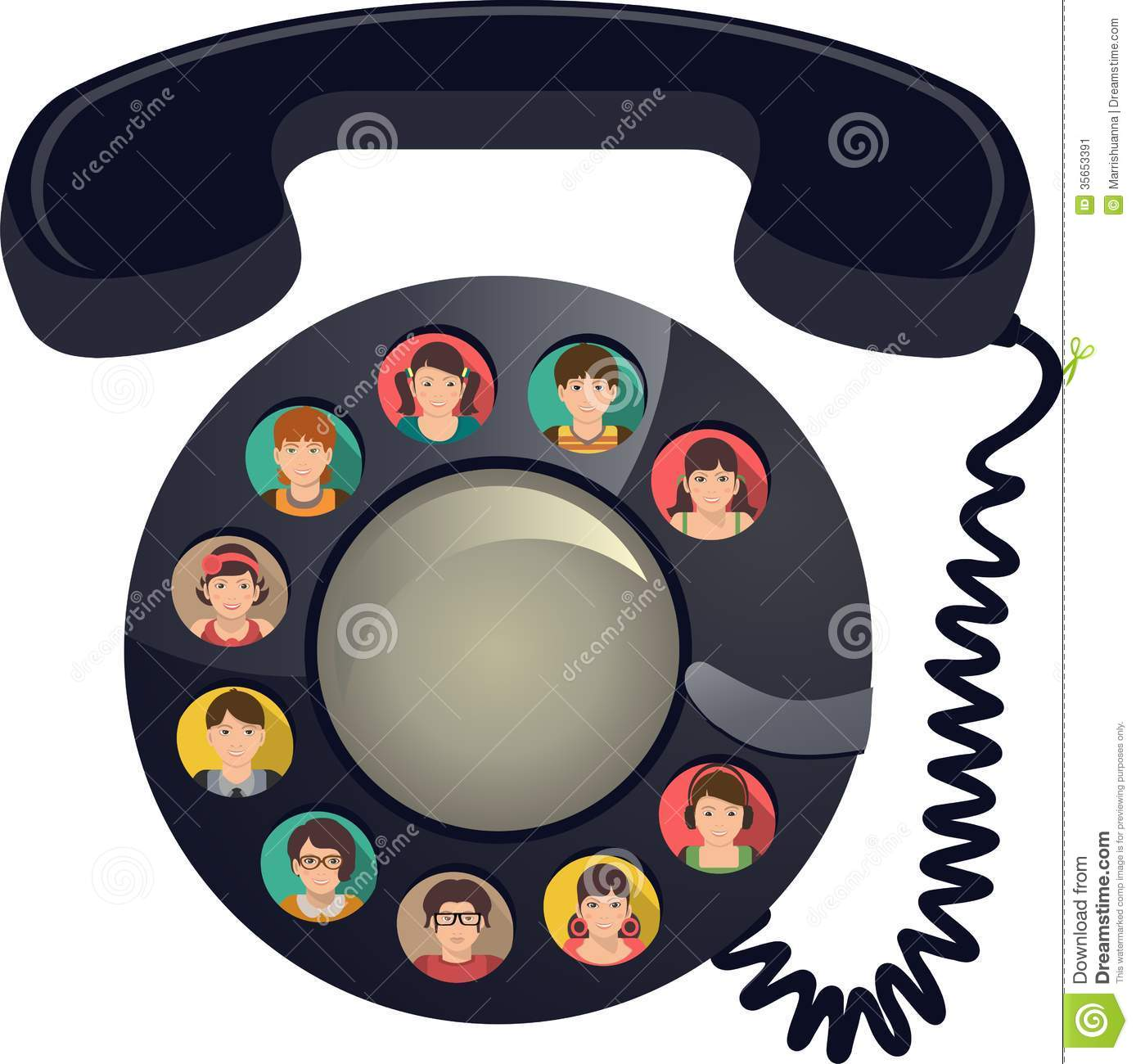 Conference call clipart 1 » Clipart Station.