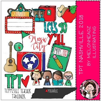 TPT Nashville Conference clip art 2018.