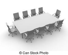 Conference table Stock Illustration Images. 4,199 Conference table.