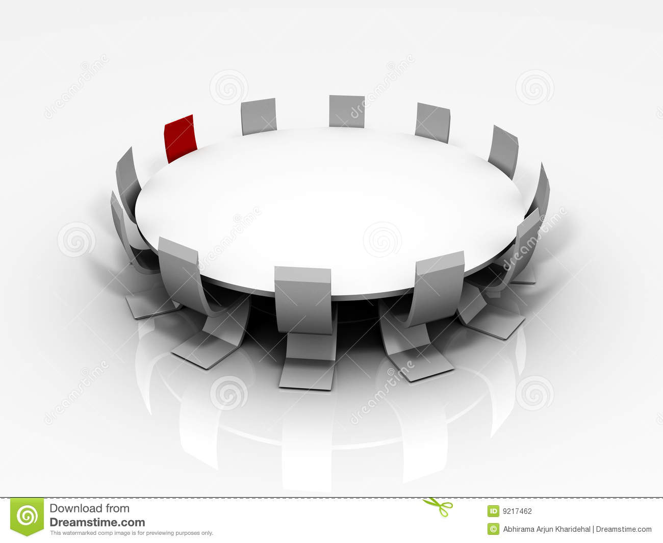 Clipart conference table.