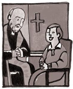 Confession Clip Art.